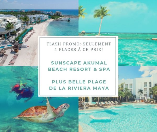 Promo-Sunscape, Akumal-Beach-Resort et spas