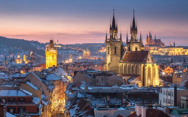 Prague-cathedrale de Tyn
