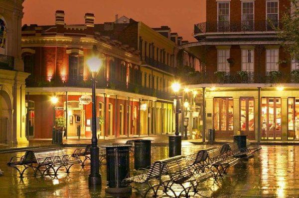 N.Orleans-Vieux-Carré -nuit