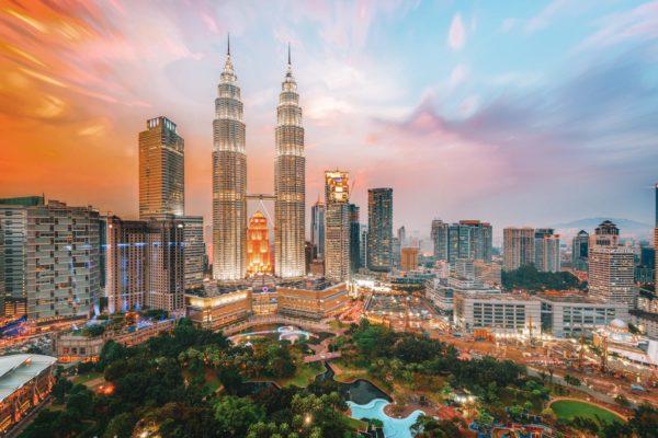 kualua Lumpur- Tours Petronas- Cenntre-ville