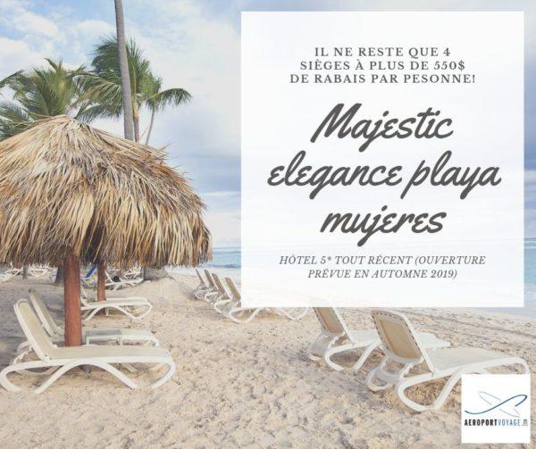 Publicite-Magestic-elegance-playa-Mujeres